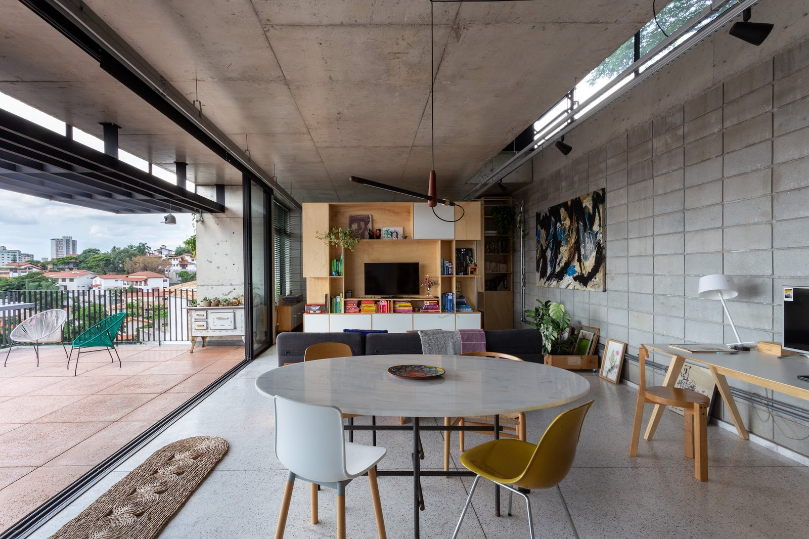 Casa Comiteco by Marcos Franchini and Nattalia Bom Conselho living room