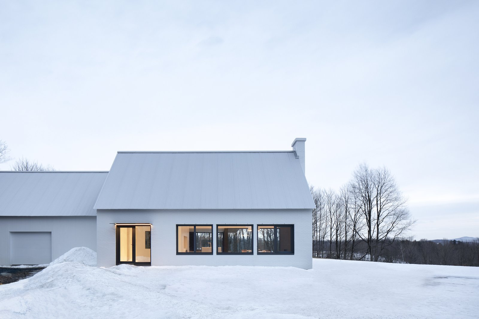 Knowlton Residence by TBA exterior