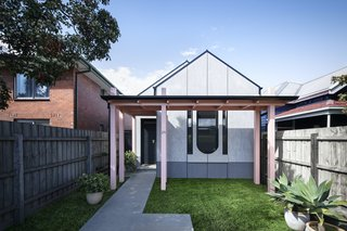 This Cuckoo Clock–Inspired Melbourne Home Cost Just $337K to Build