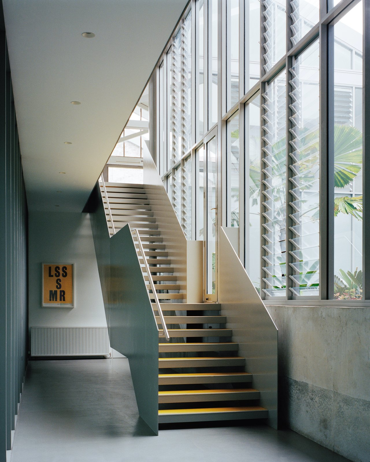Hallway of Redfern Warehouse by Ian Moore Architects.