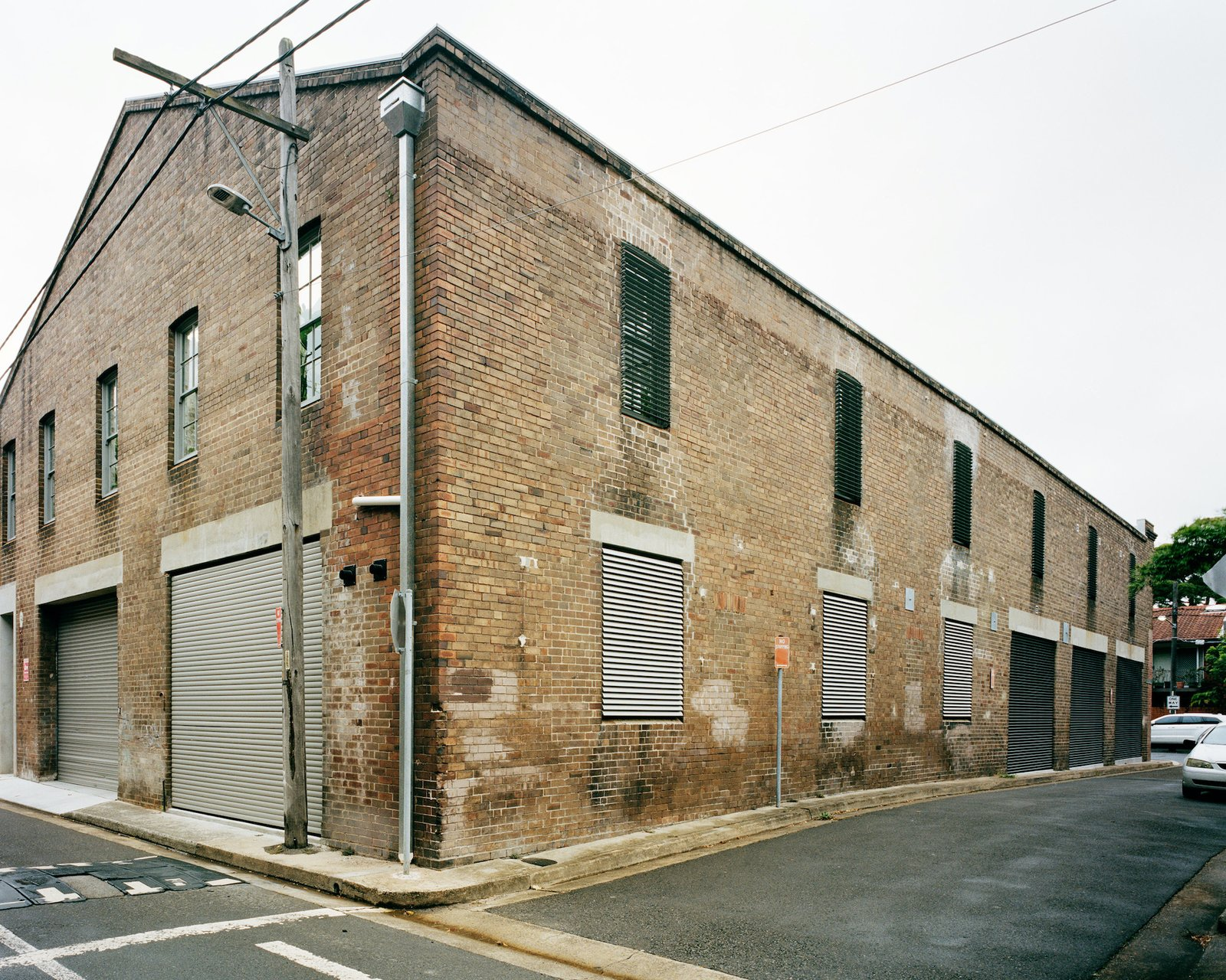 Exterior of Redfern Warehouse by Ian Moore Architects.
