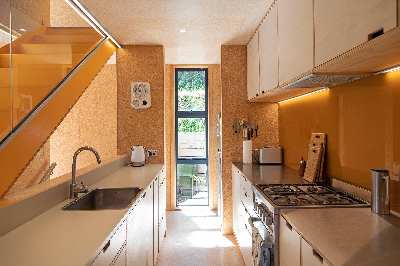 Kitchen at Thornton House by Bonnifait+Giesen.