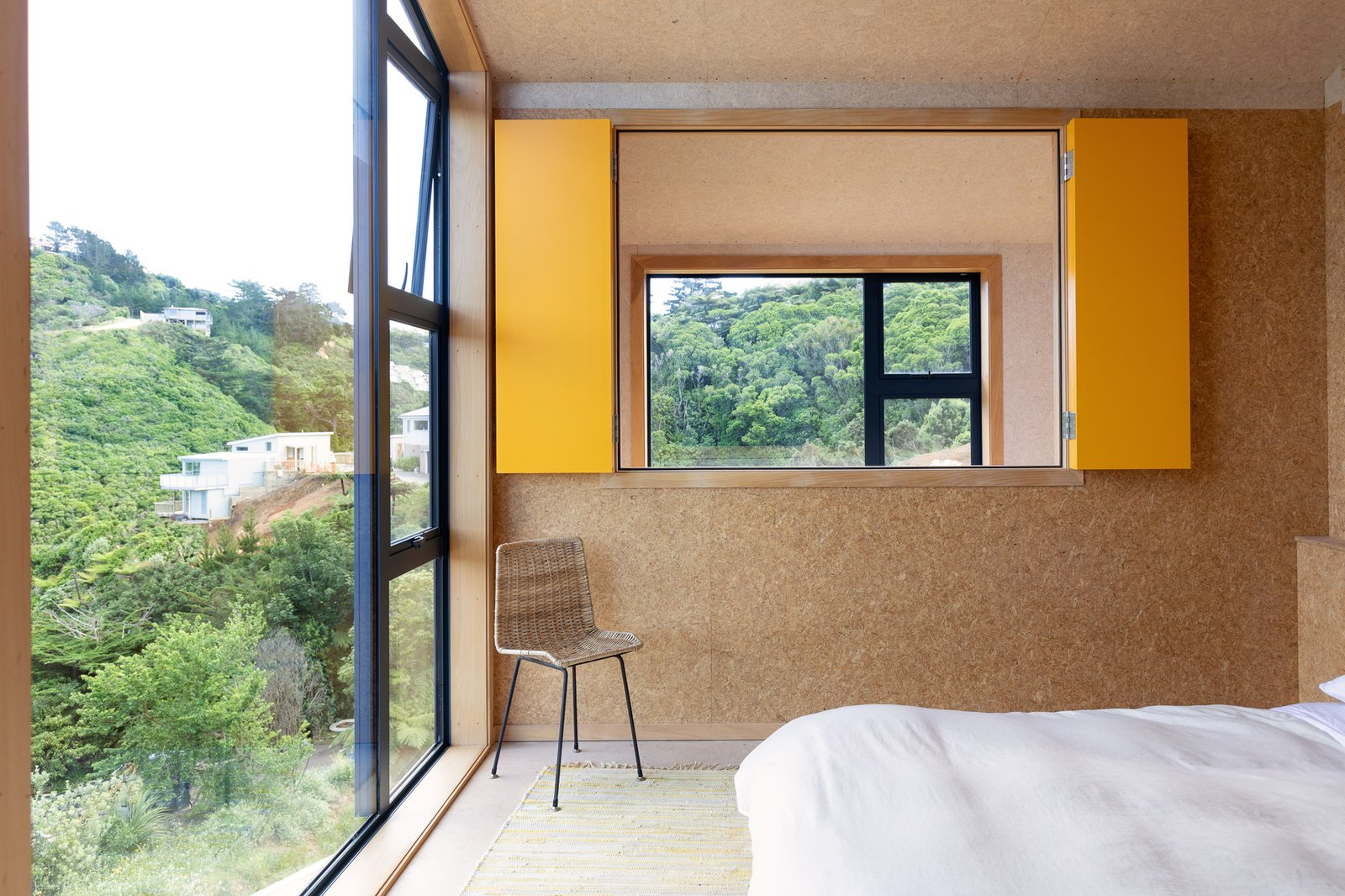 Bedroom at Thornton House by Bonnifait+Giesen.