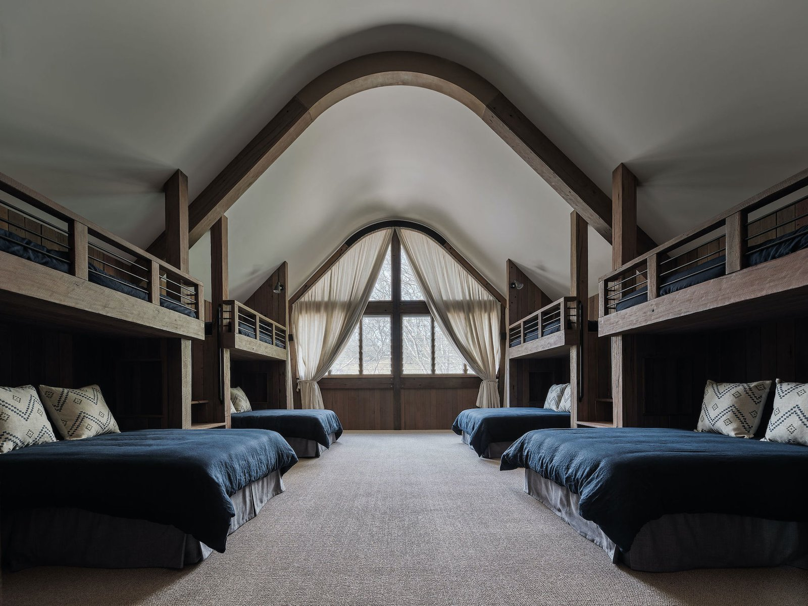 The Barn by Paul Uhlmann Architects bunk room