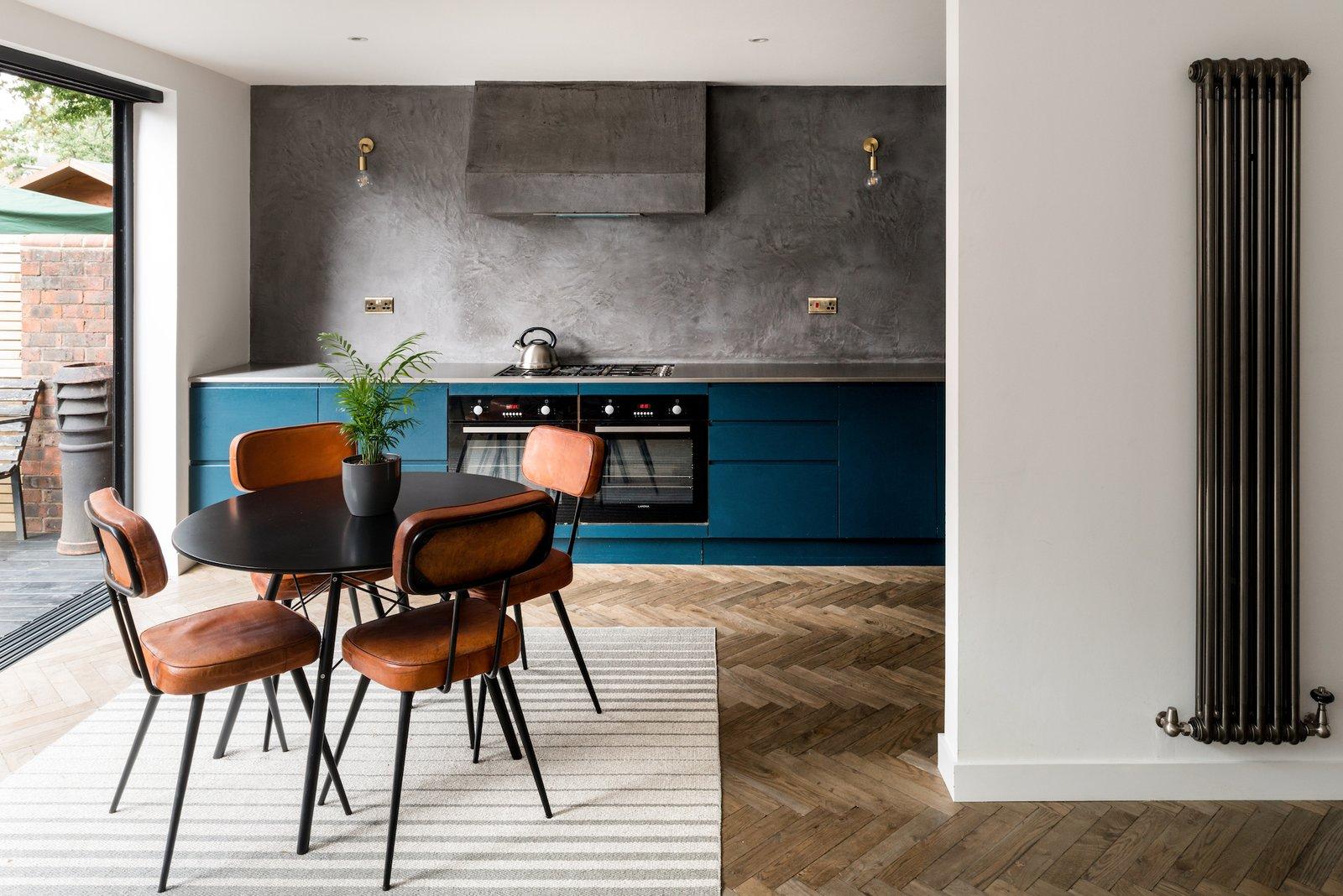 Kitchen at Two and a Half Storey House by Bradley Van Der Straeten Architects.