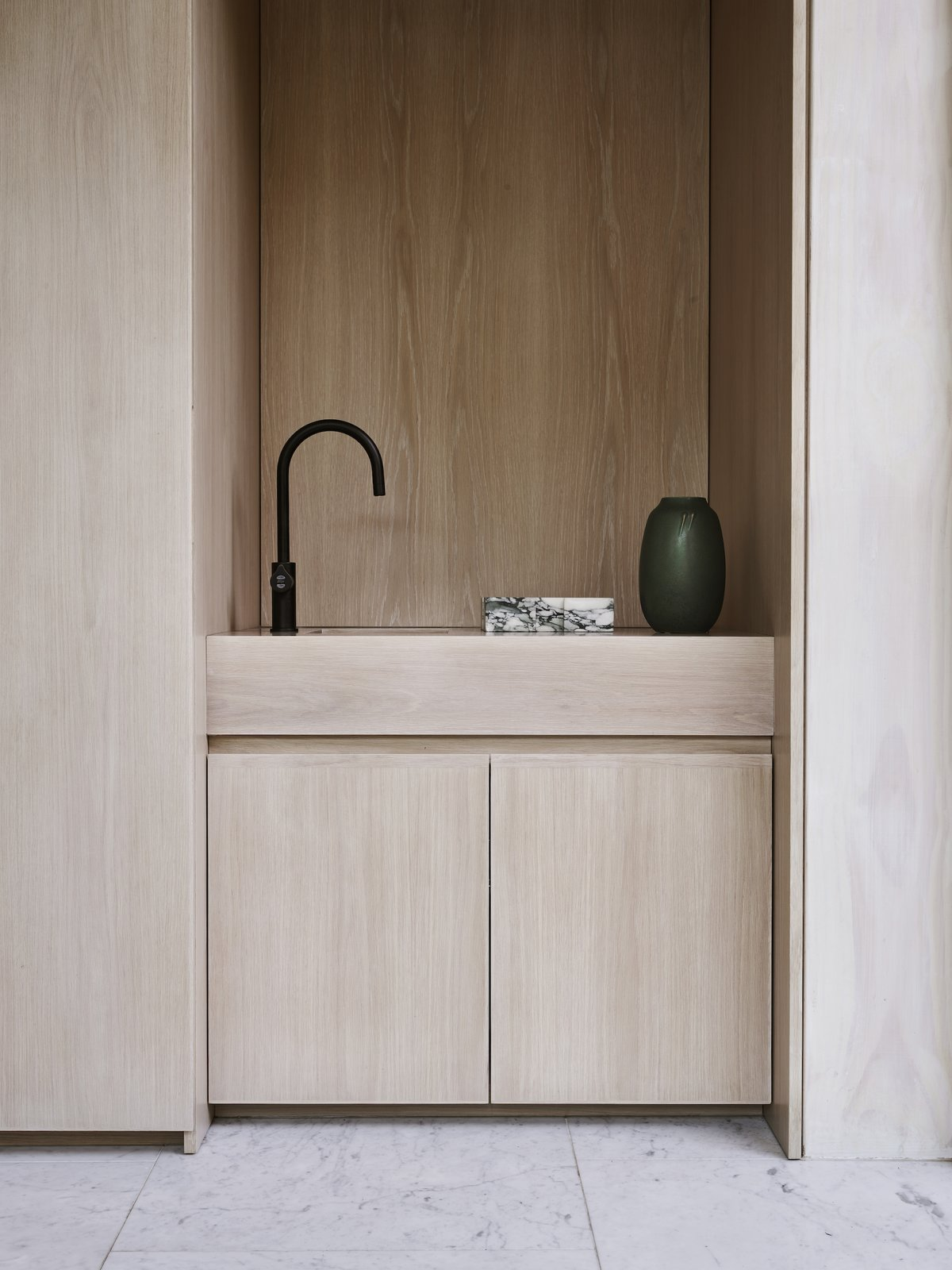 Kitchen joinery at Bondi Junction House by Alexander & CO.