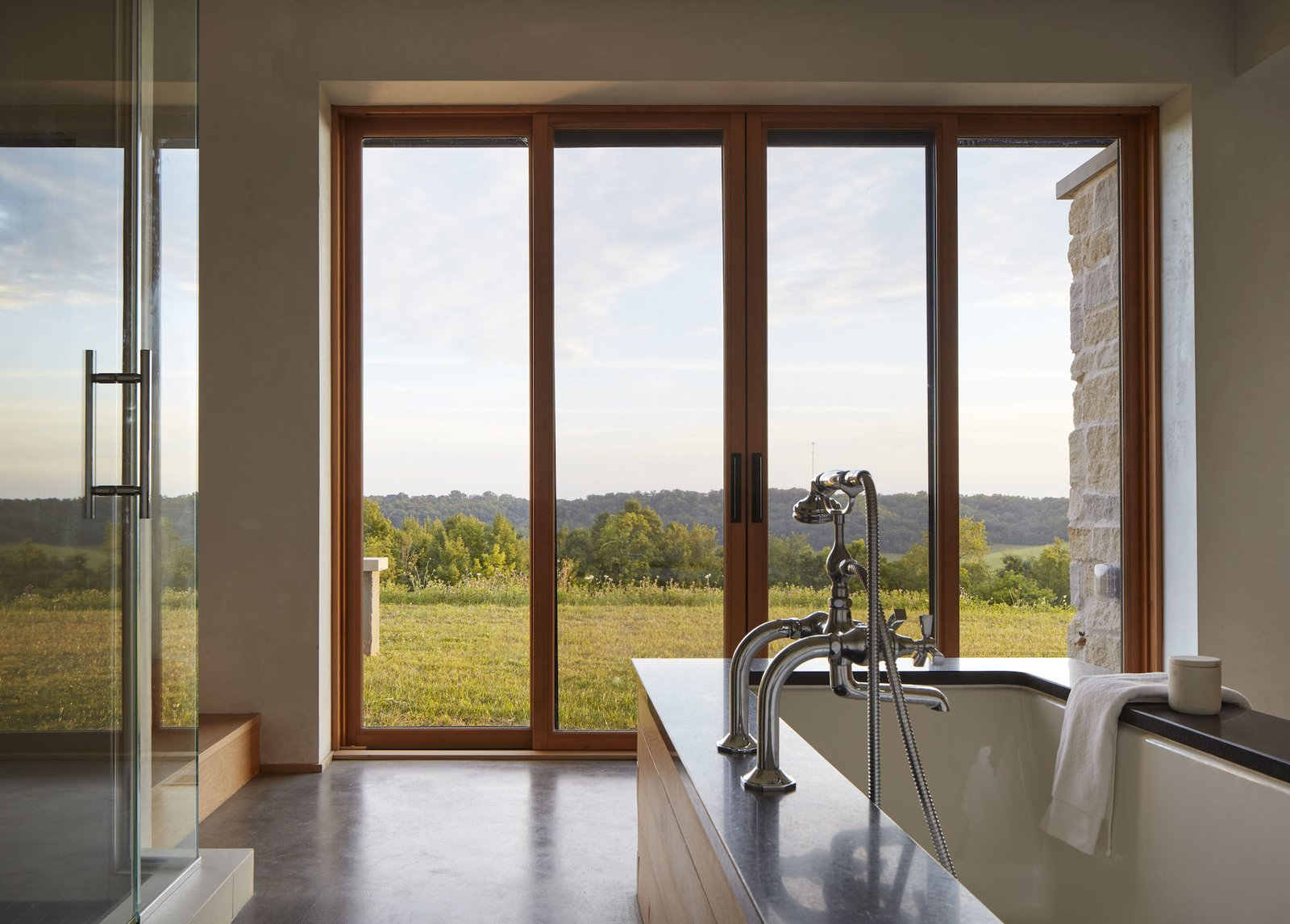 Bathroom at Lake Pepin Farmhouse by TEA2
