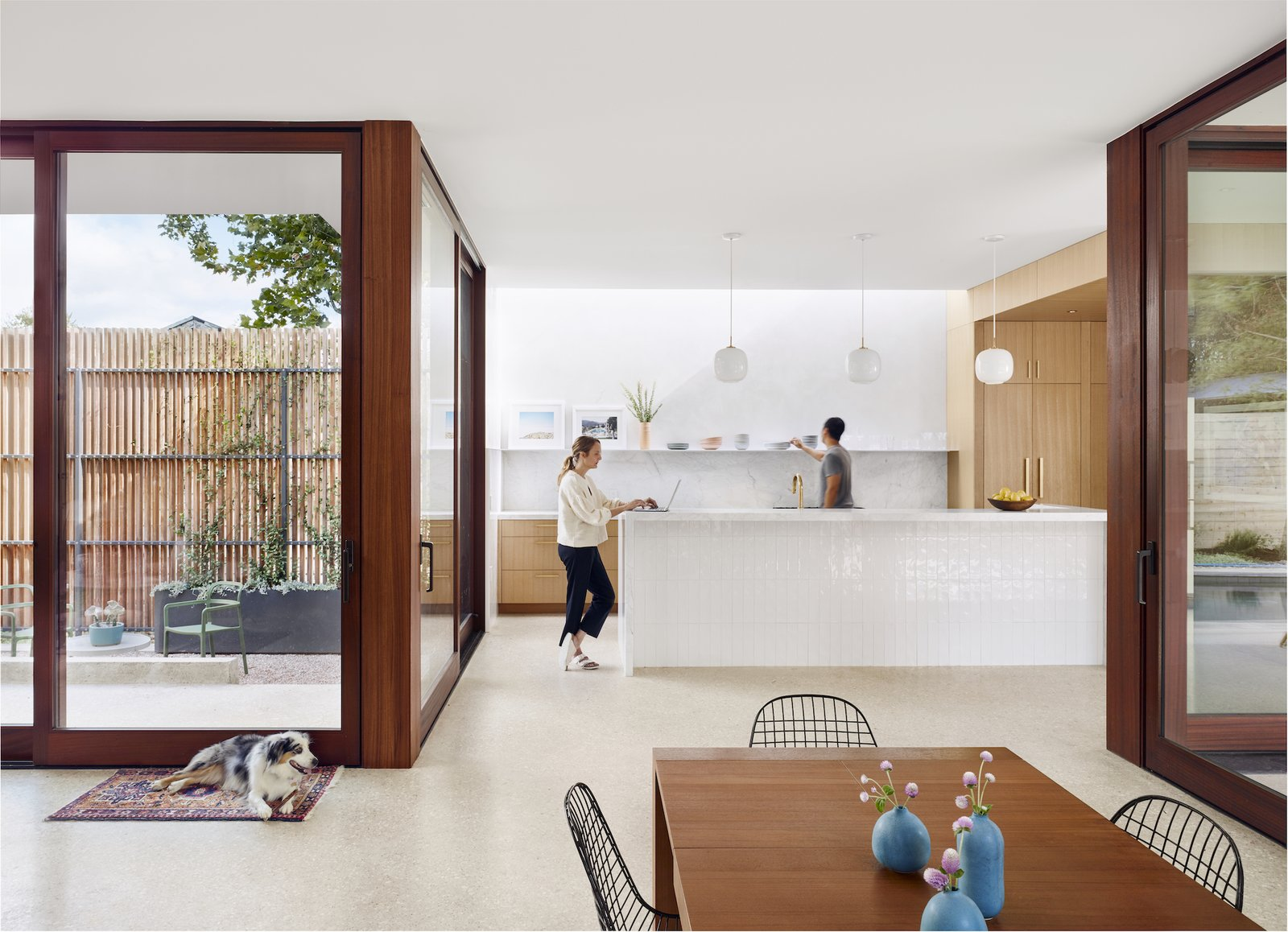 Kitchen at Hemlock Ave. House by Chioco Design.