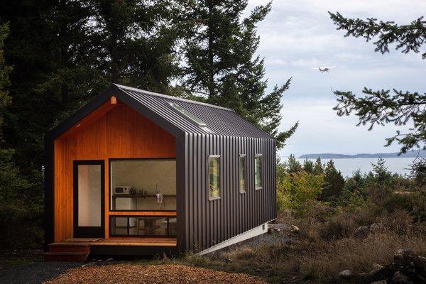 Saltwater Farm is situated on the shoreline of San Juan Island, which is only accessible via sea or air.