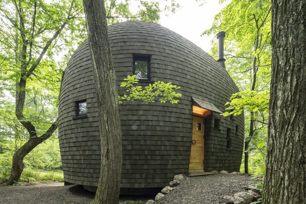 Best 60 Modern Exterior House Curved Roofline Design Photos And Ideas Dwell