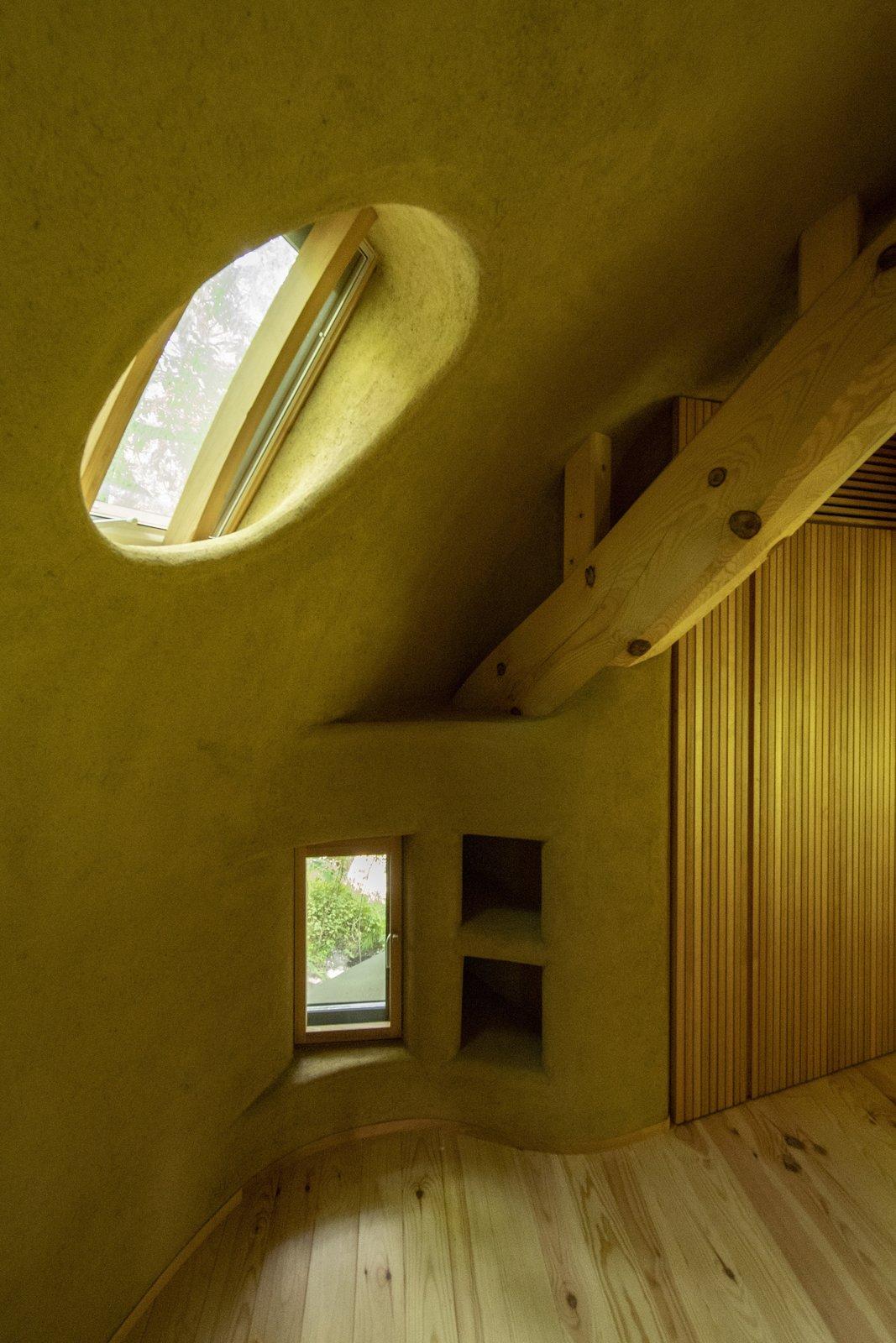 Window of Shell House by Tono Mirai Architects.