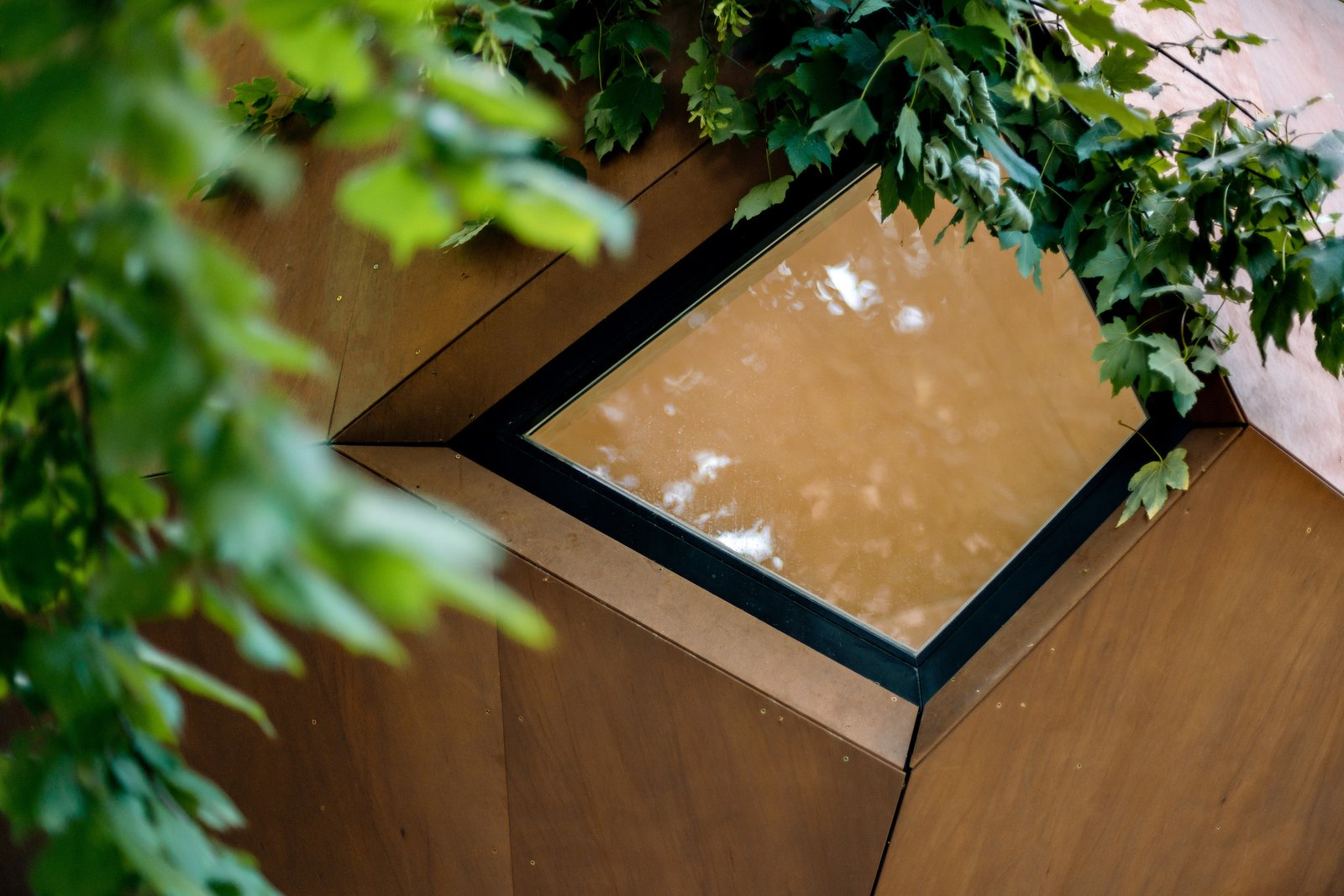 Exterior of Workstation Cabin by Hello Wood
