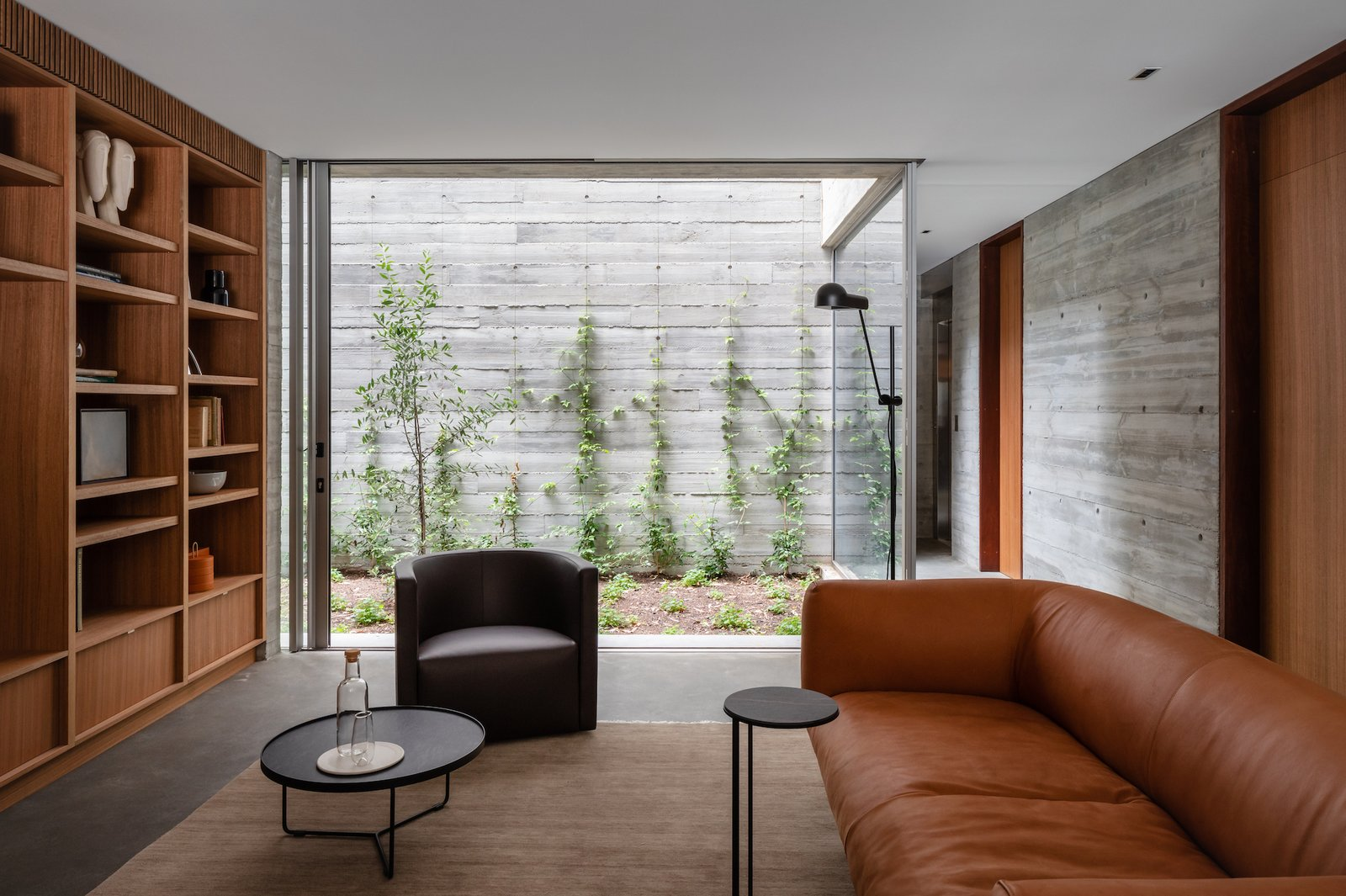Living room of Church Point House by CHROFI.