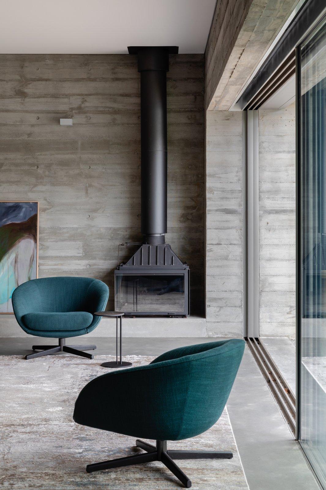 Living room at Church Point House by CHROFI.