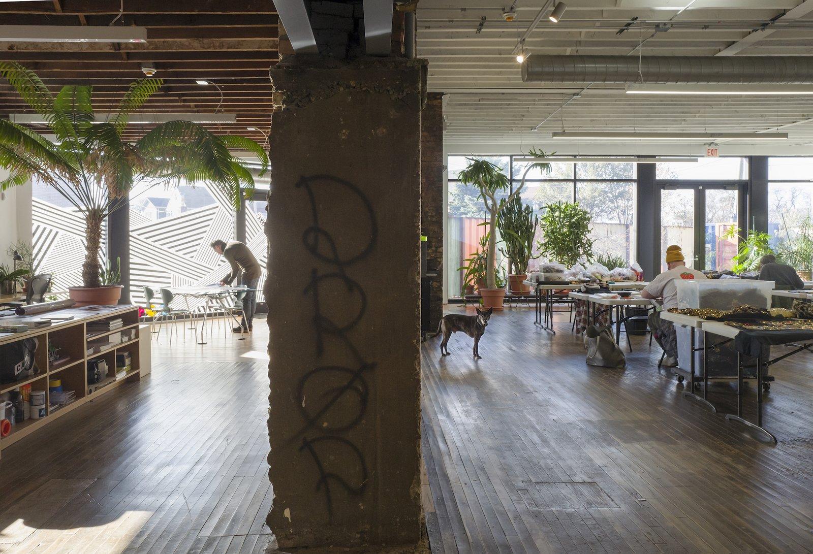 Studio at Facility by Carlo Parente Architecture.