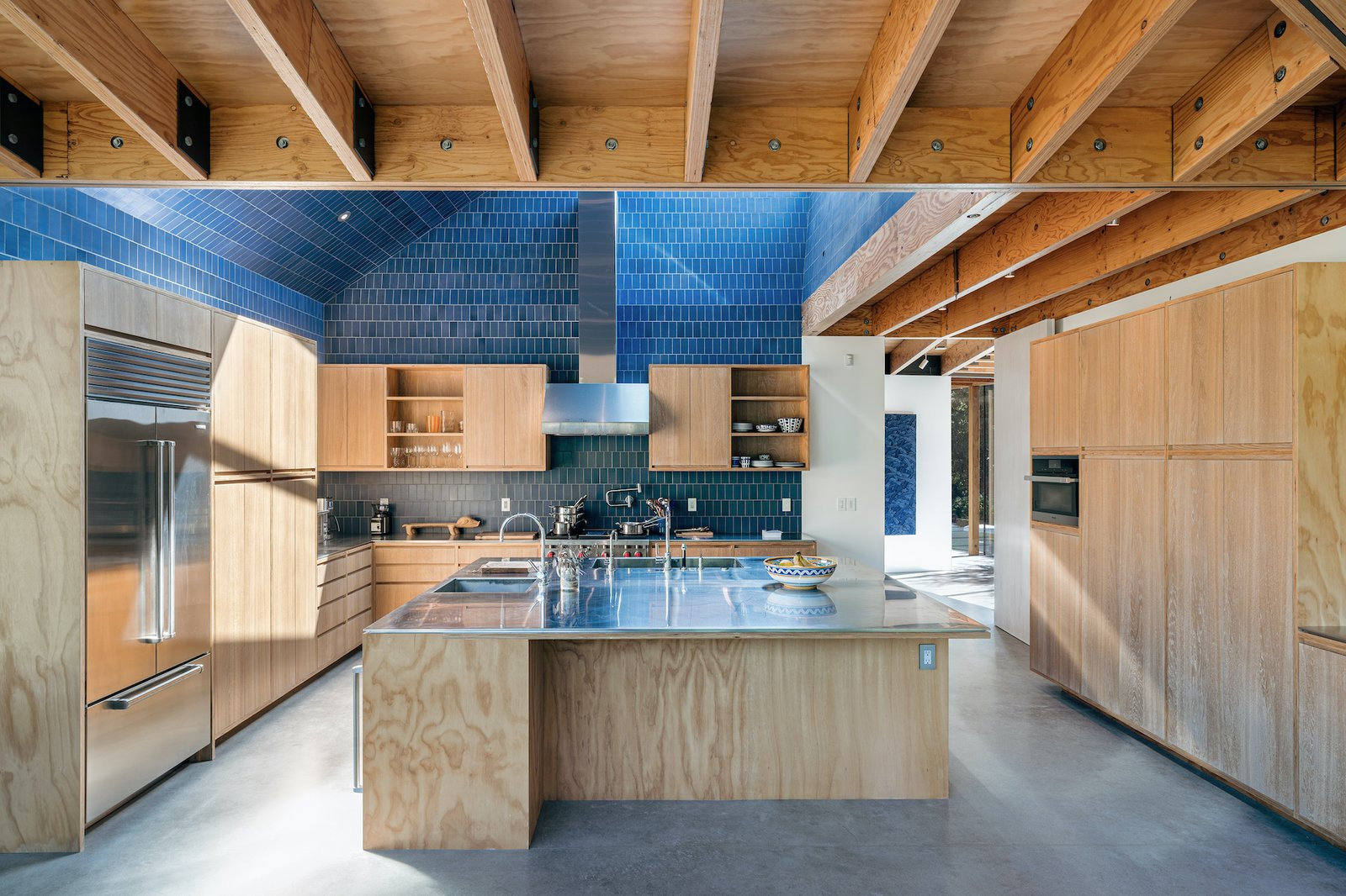 Kitchen in Branch House by TOLO Architecture