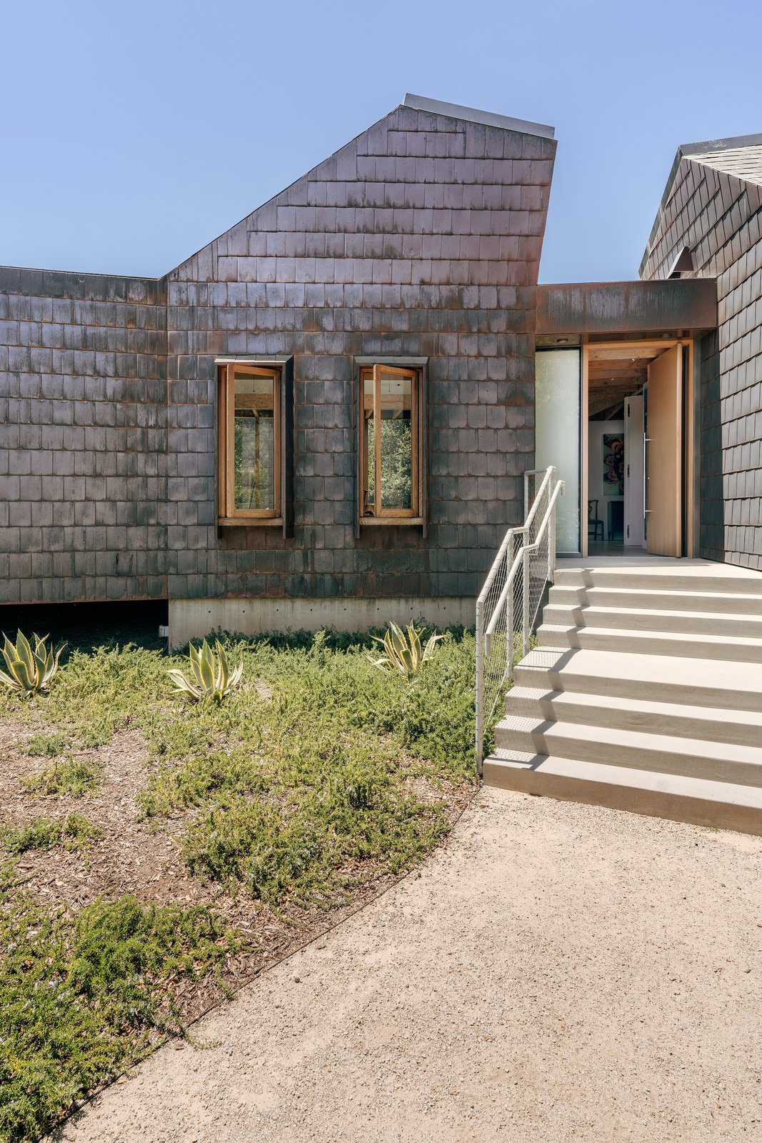 Exterior of Branch House by TOLO Architecture