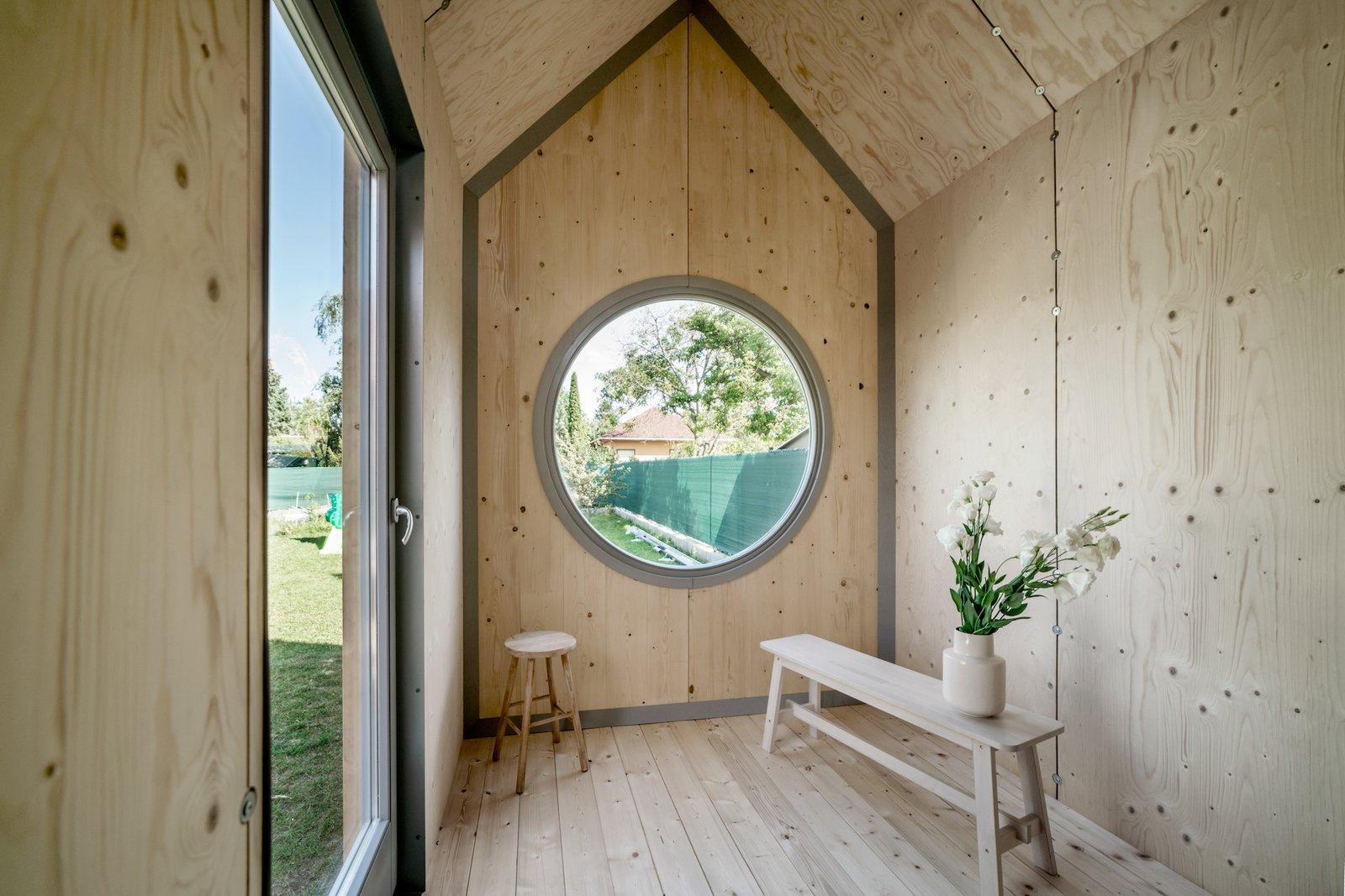 Living room of Kabinka by Hello Wood.