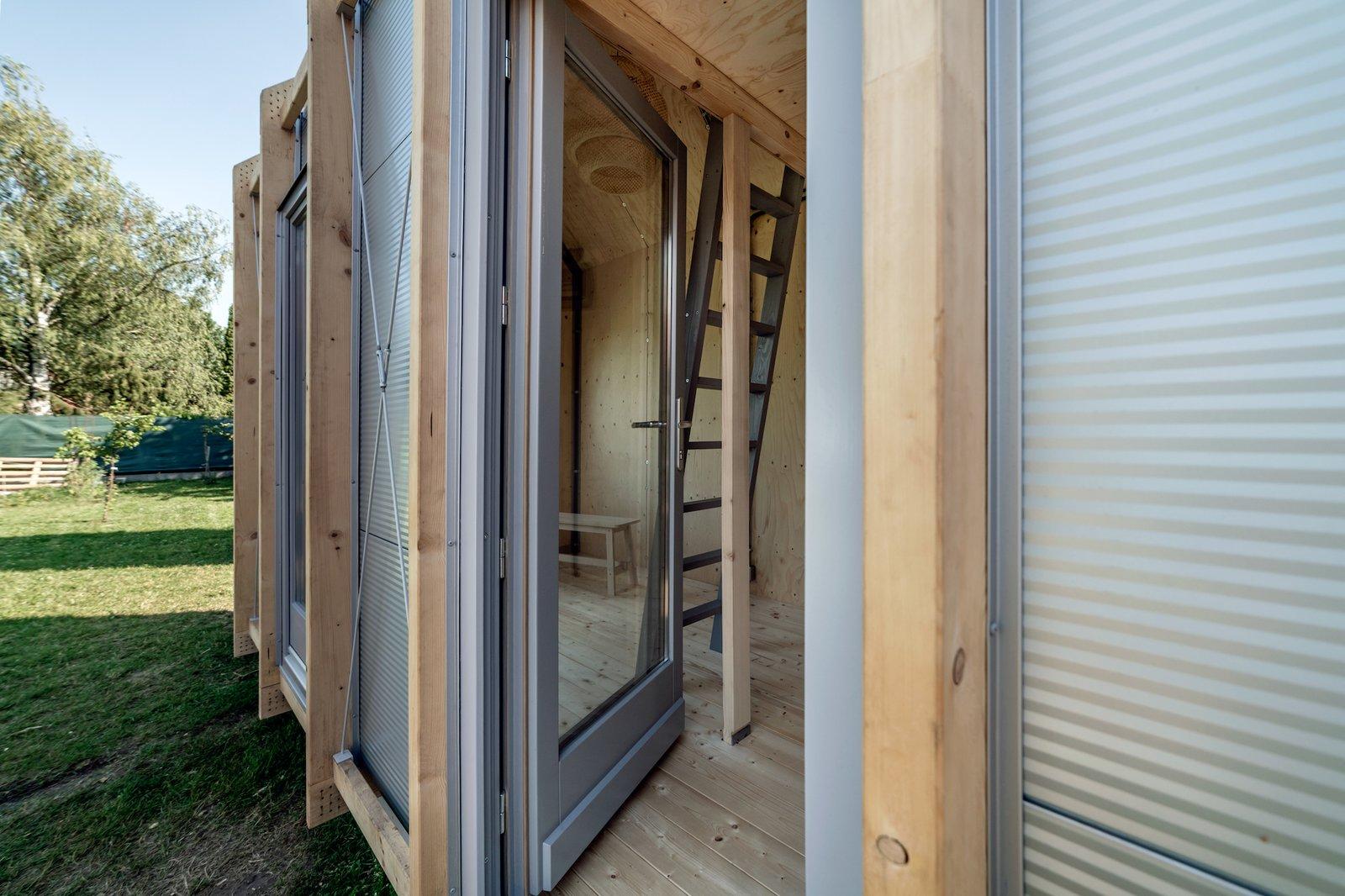 Exterior of Kabinka by Hello Wood.