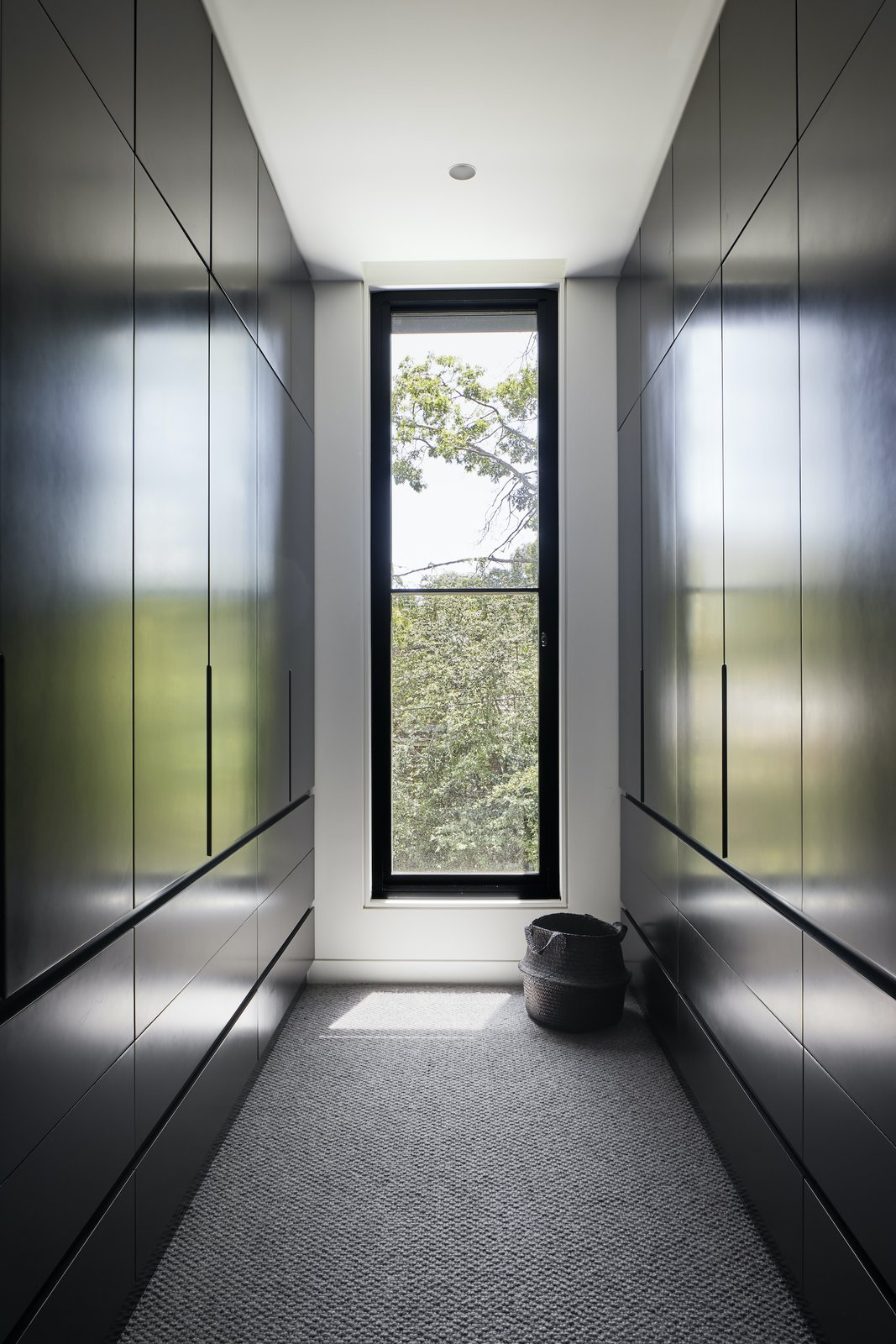 Hallway of Laurel Grove by Kirsten Johnstone Architecture.