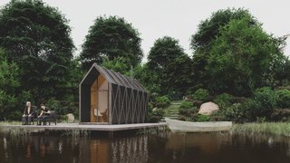 This $12K Flat-Pack Cabin Makes the Perfect Weekend Retreat or Backyard Office