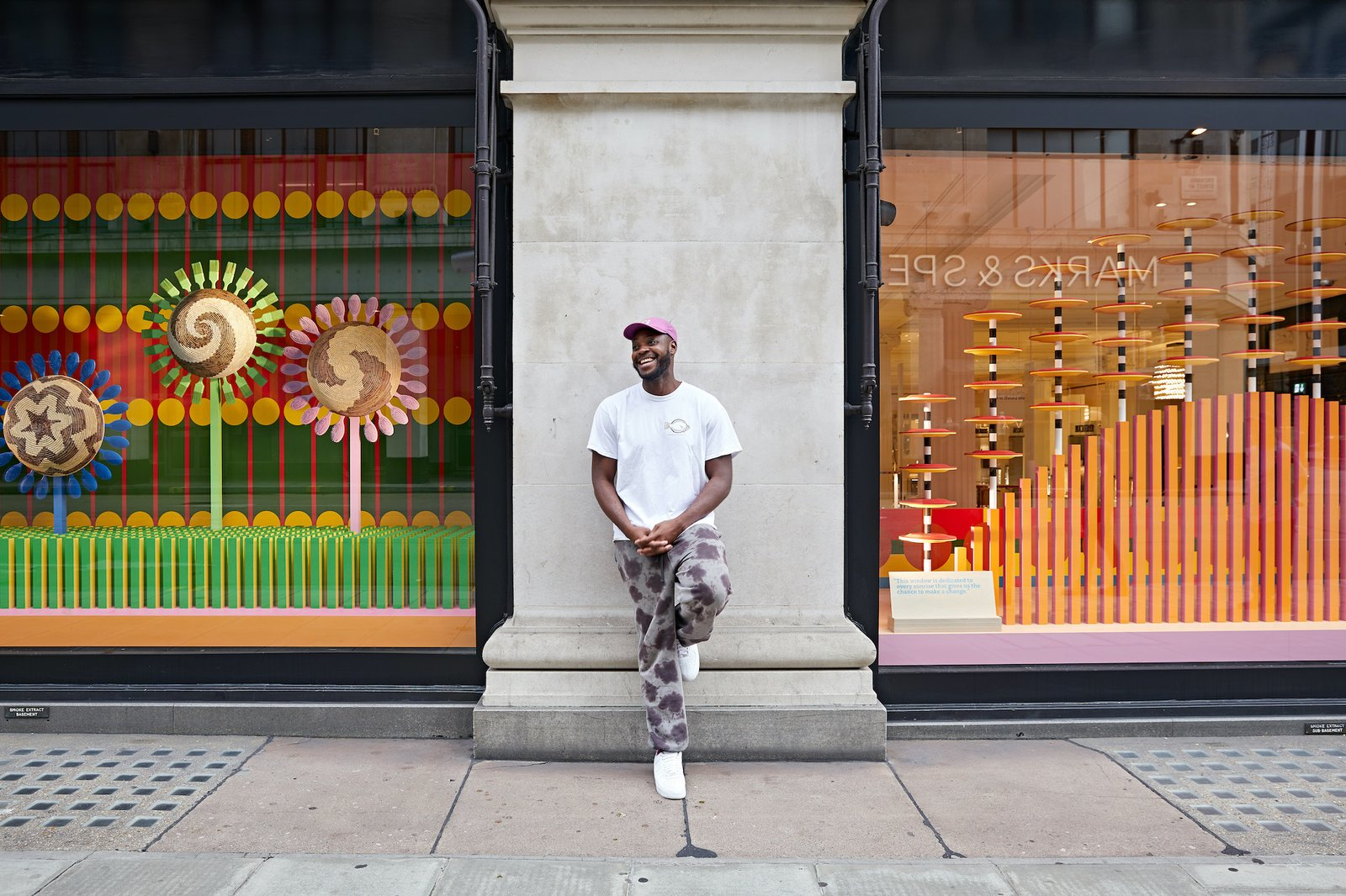 Yinka Ilori tells us about his passion for color, how public spaces can bring communities together, and why his parents are his biggest inspiration.
