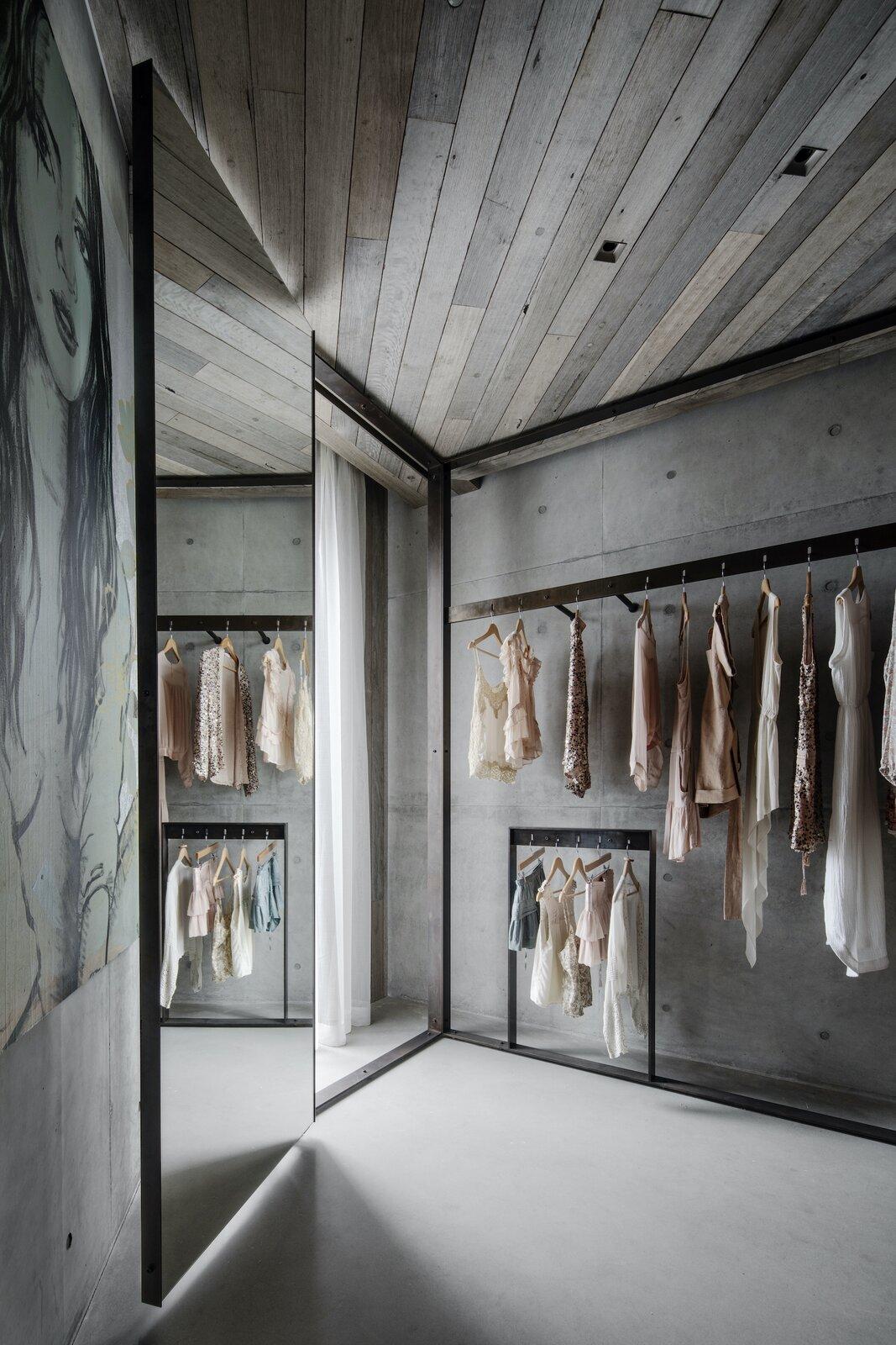 Wardrobe of Silver Linings by Rachcoff Vella Architects.