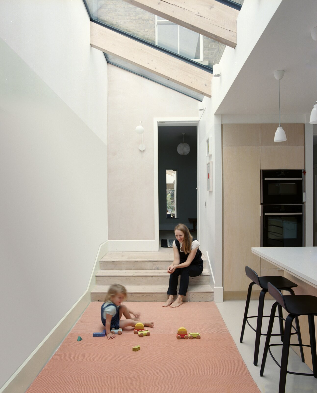 Play area of Zigzag Roof House by 4 S Architecture.