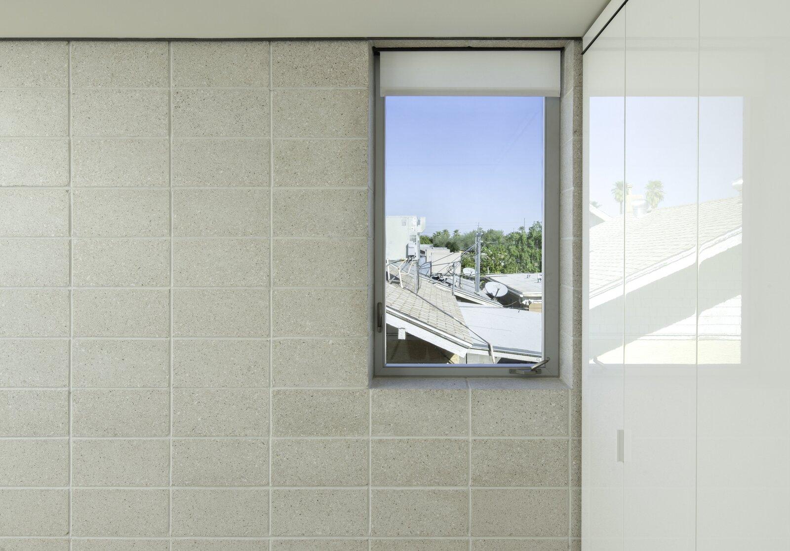 Window of White Stone Flats by Benjamin Hall Design.