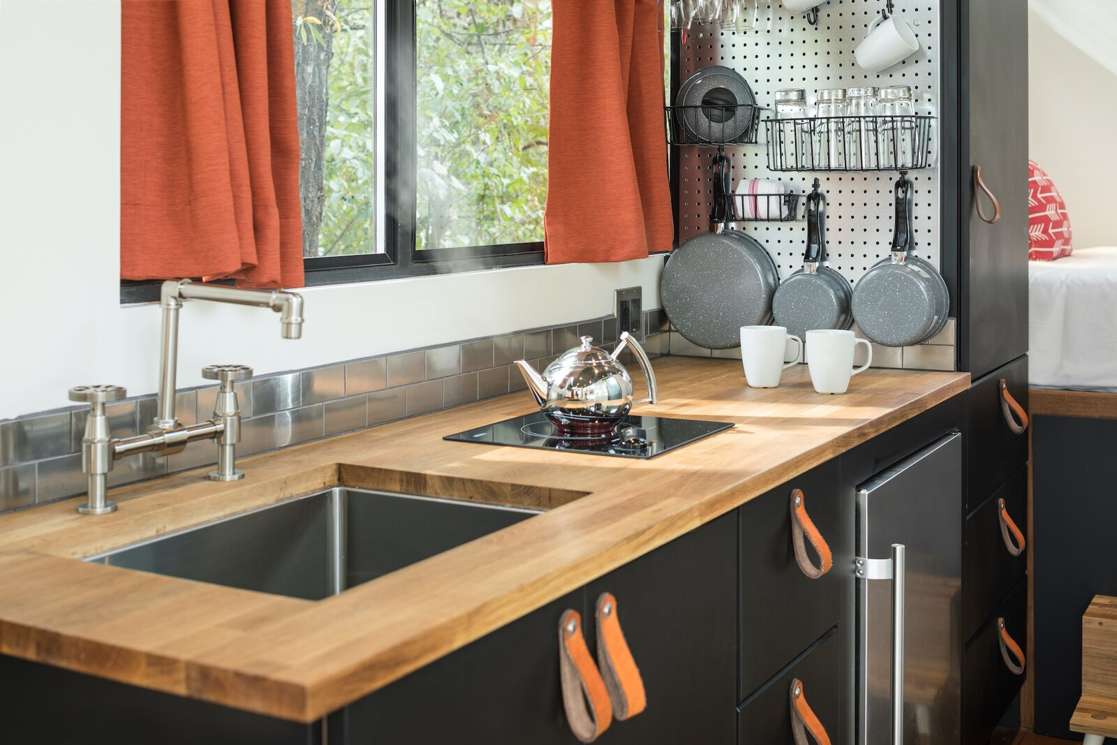 Kitchen of Road-Haus by Wheelhaus.