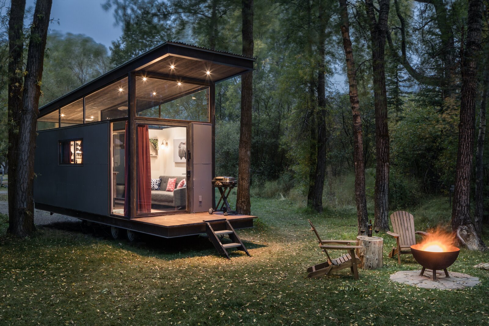 Exterior of Road-Haus by Wheelhaus.
