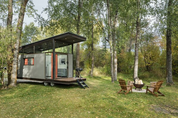 """Road-Haus can be placed nearly anywhere recreational vehicles or trailers can. """"To install Road-Haus, you will need a water line, sewer connection line, and 100 amp service for power within 20 feet of the unit,"""" says Wheelhaus founder Jamie Mackay."""