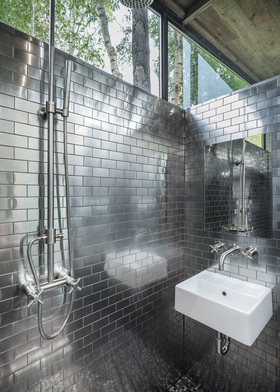 Bathroom of Road-Haus by Wheelhaus.