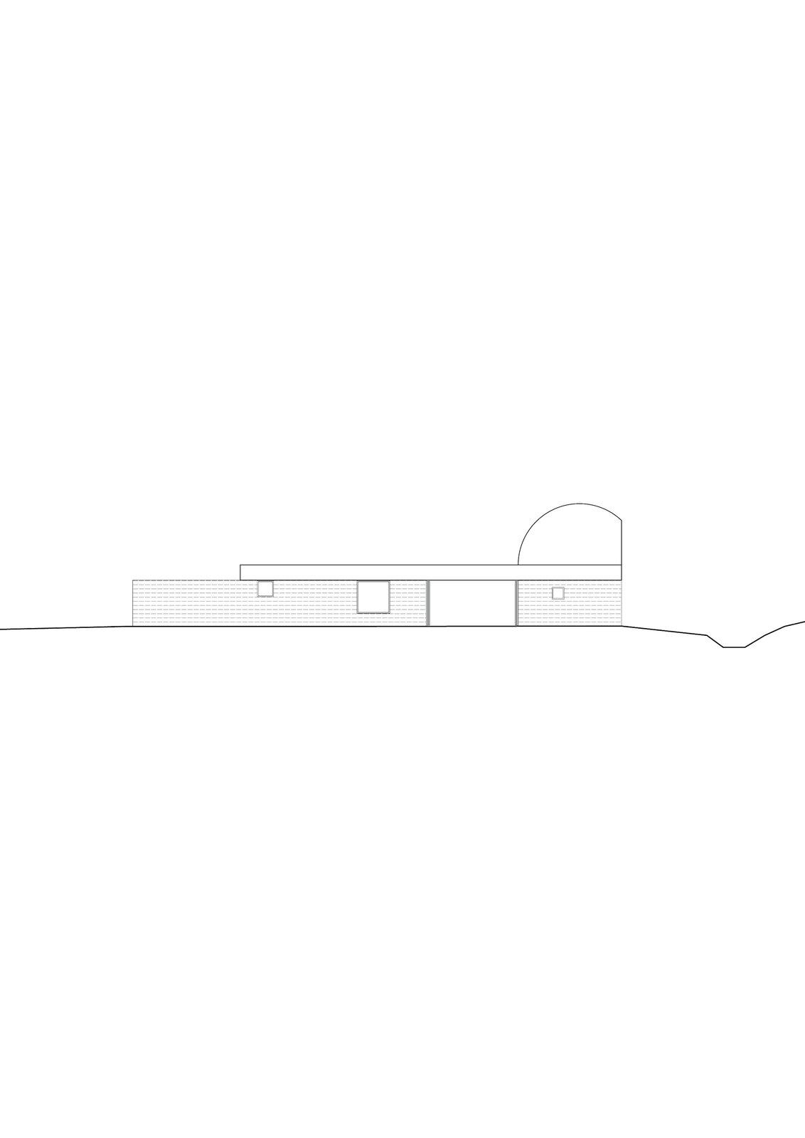 Elevation of Casa Ter by Mesura