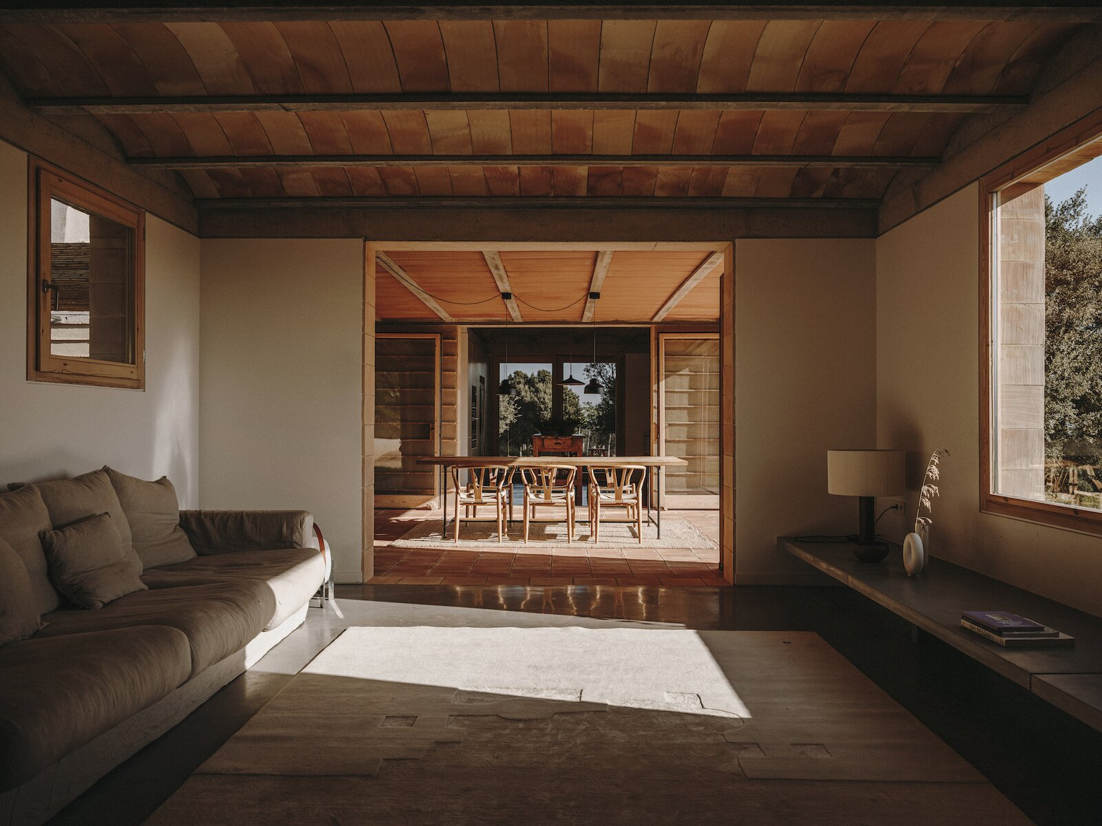 Living room of Casa Ter by Mesura.