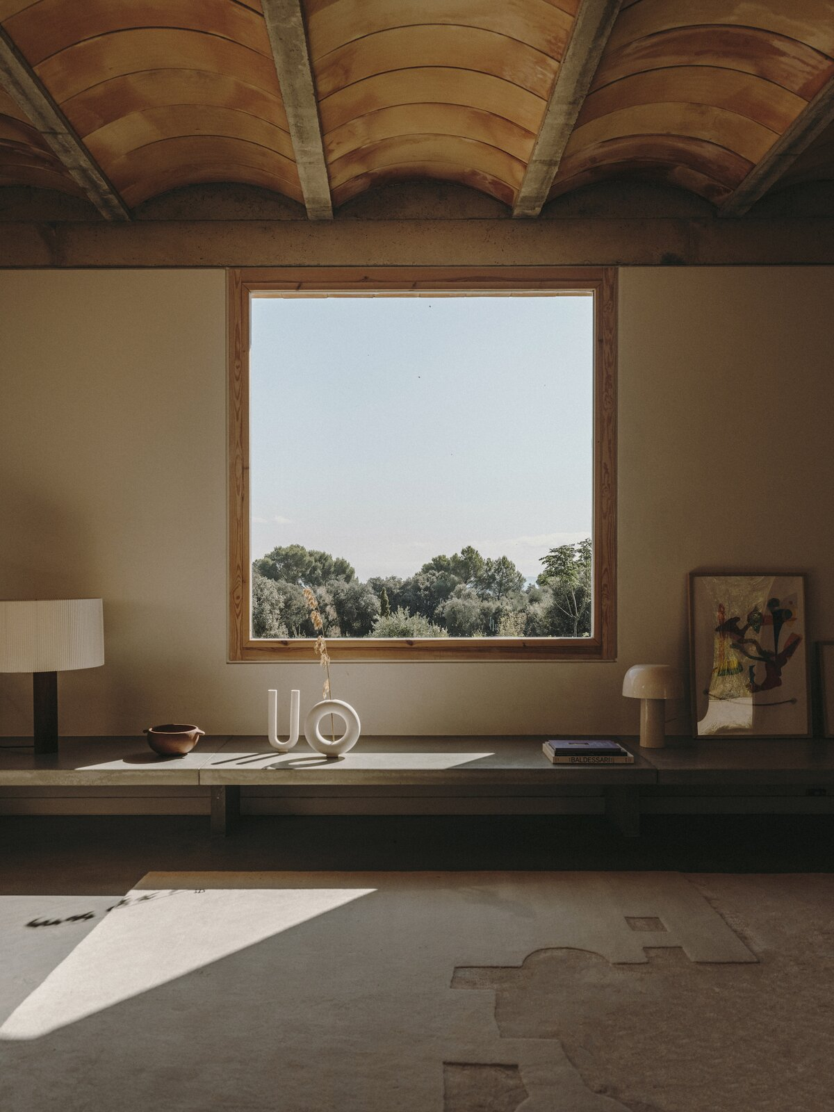 Living area of Casa Ter by Mesura.