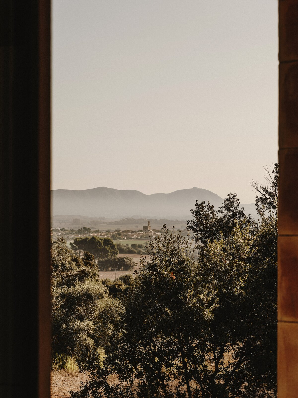 Window view of Casa Ter by Mesura.