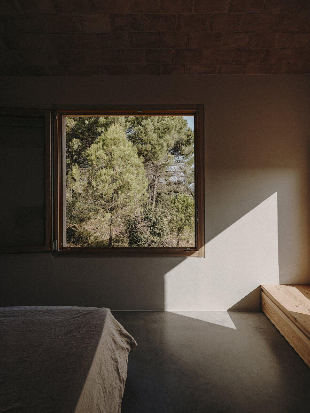 Bedroom of Casa Ter by Mesura.