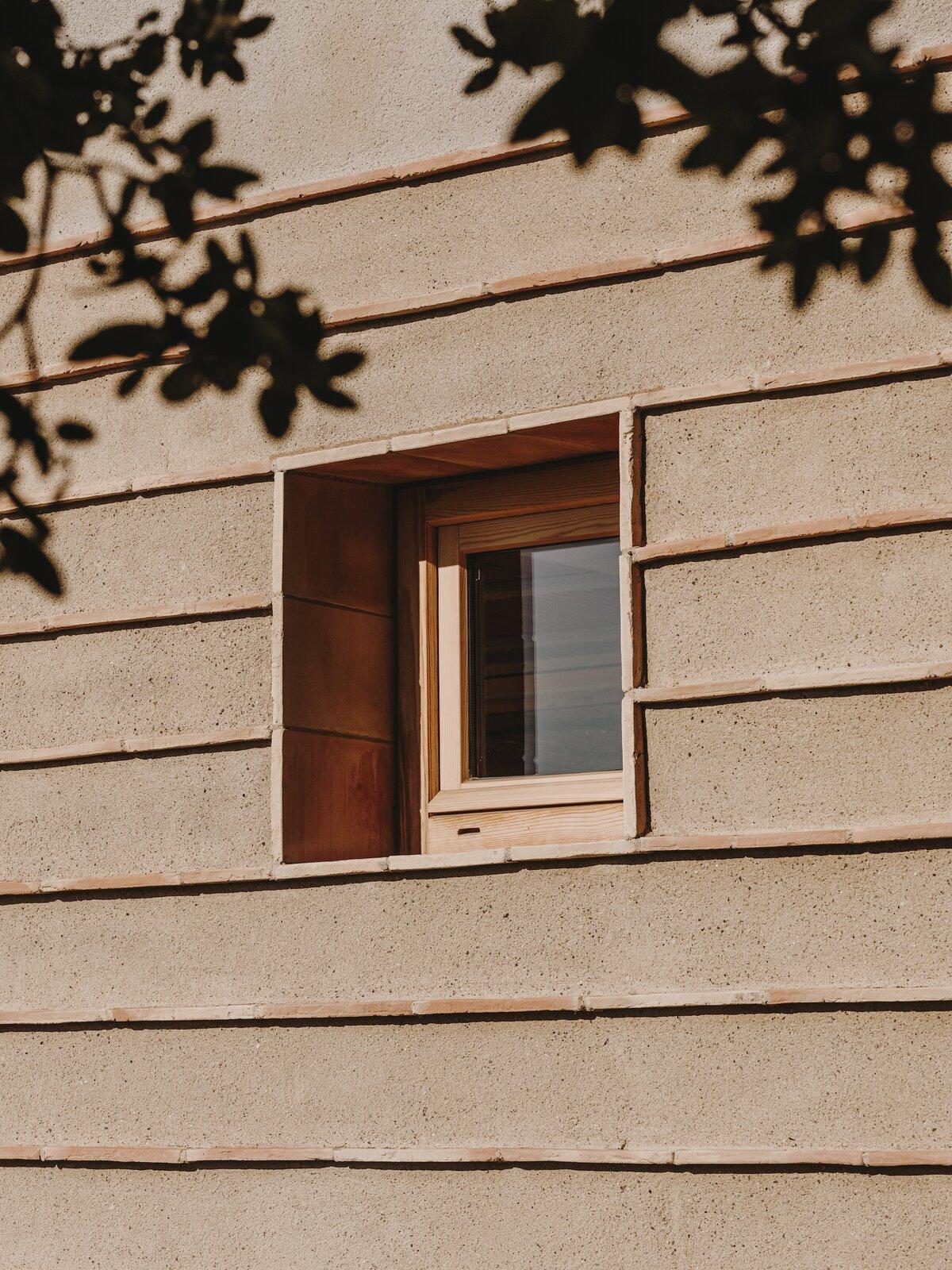 Window of Casa Ter by Mesura.