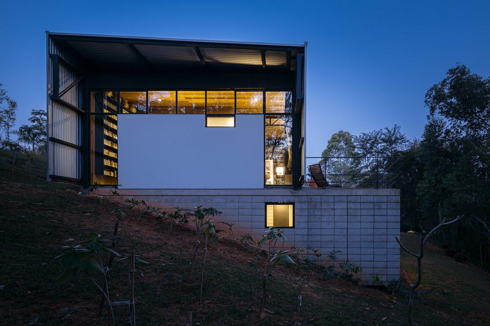 Exterior of Casa Granja V by 23 SUL.