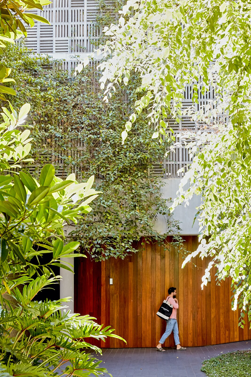 Exterior of Jono Fleming's Apartment in Sydney