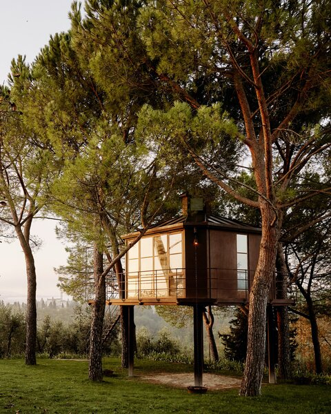 Casa Barthel in Florence, Italy, is the creation of architect Elena Barthel and is one of the most lavish treehouses on Airbnb.