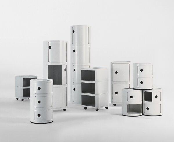Anna Castelli Ferrieri. Componibili Modular Storage System, 1967.