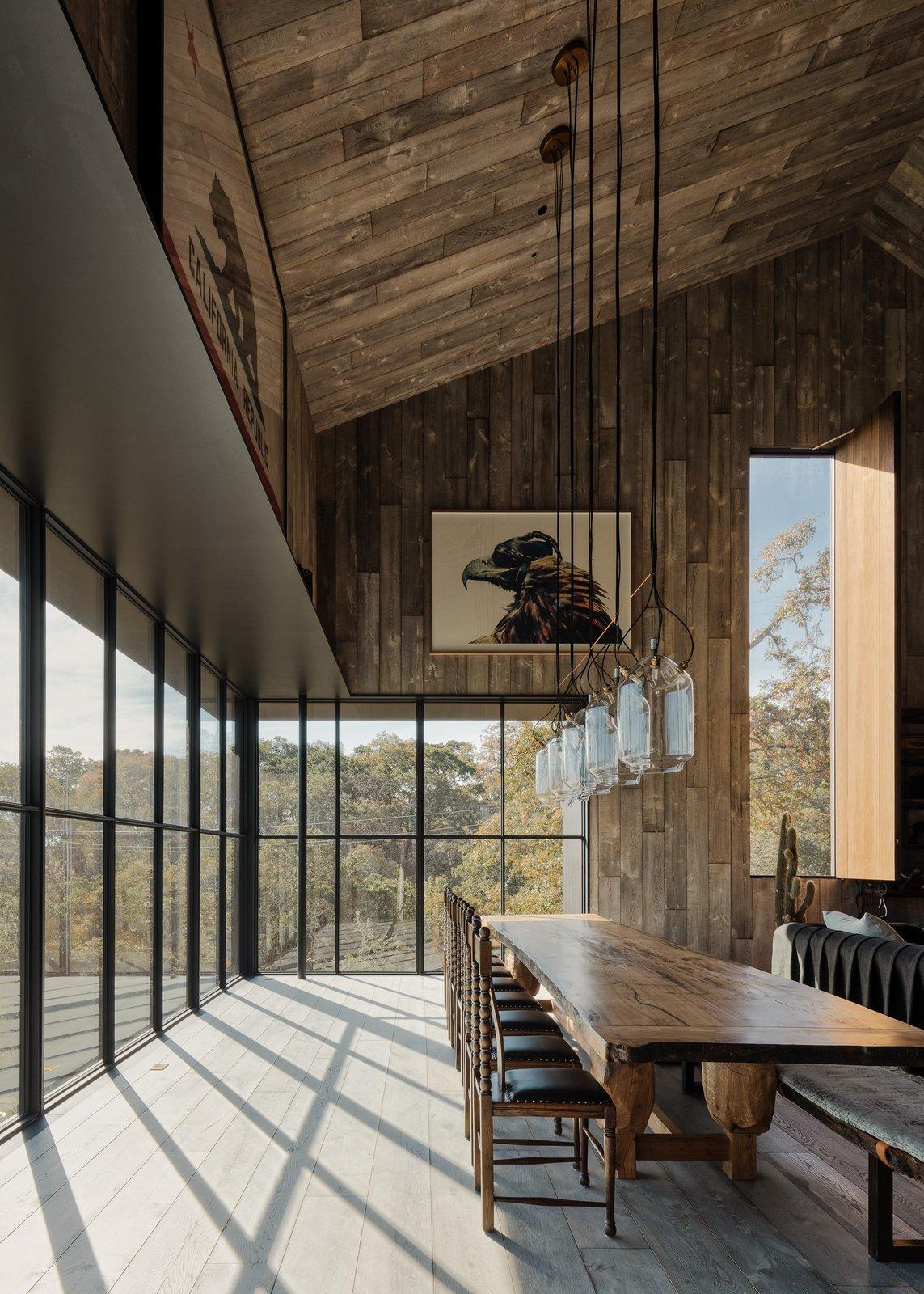 Dining Room Big Barn  Big Barn by Faulkner Architects