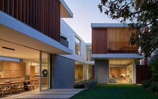 Vertical Courtyard House