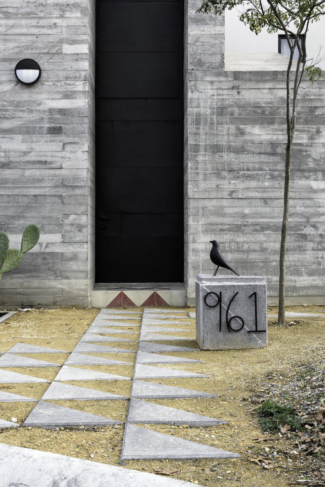 Doors, Swing Door Type, Metal, and Exterior Main Access  Pia Residence