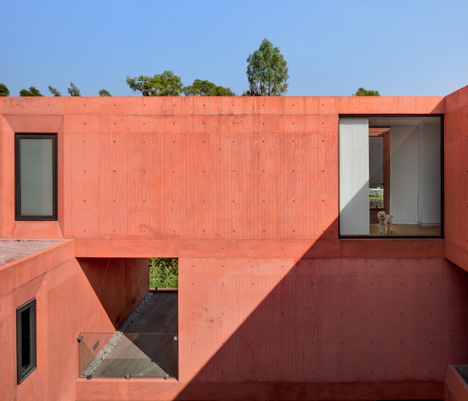 Windows, Metal, and Picture Window Type CVC House by Estudio MMX   The CVC House