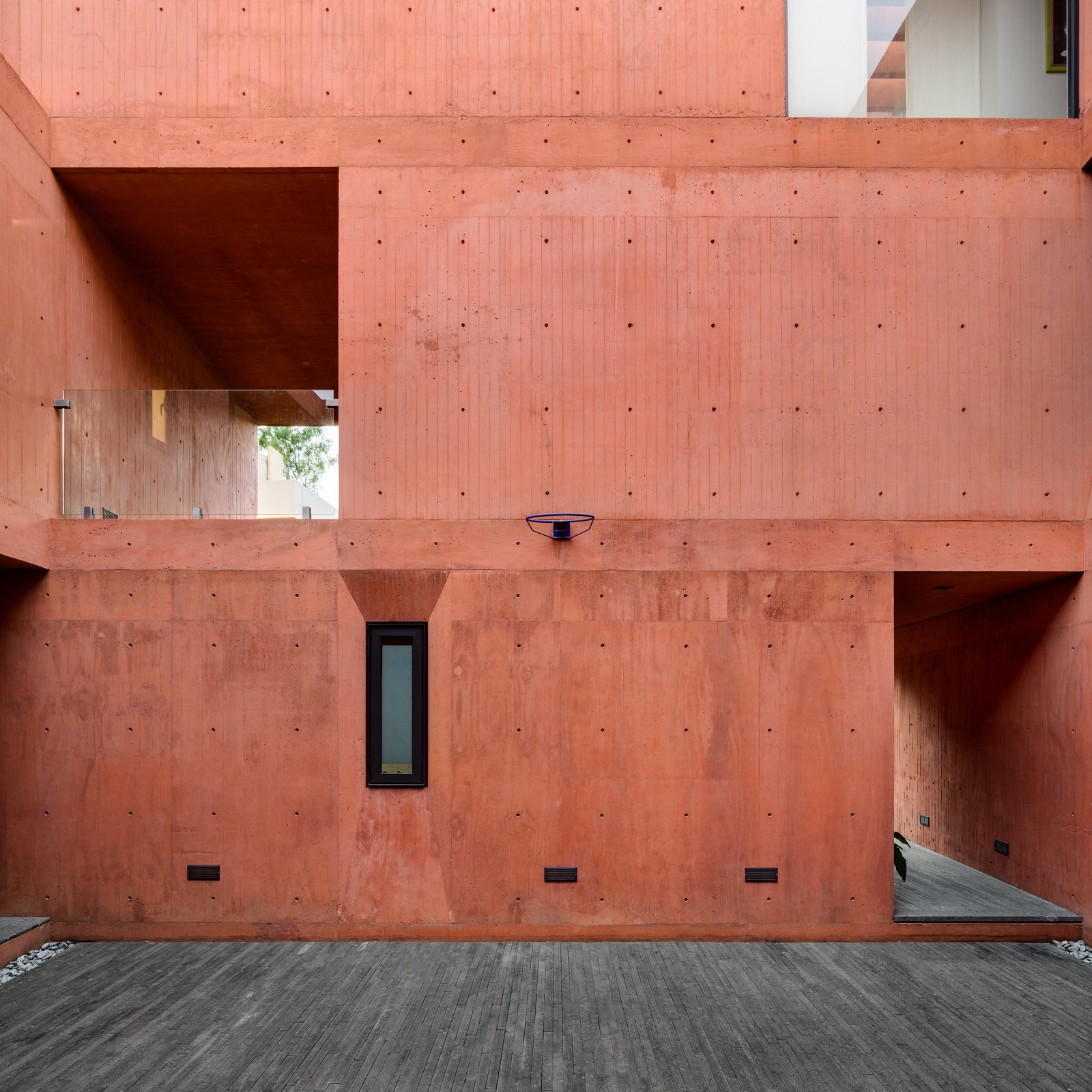 Exterior, House Building Type, Flat RoofLine, and Concrete Siding Material CVC House by Estudio MMX   The CVC House