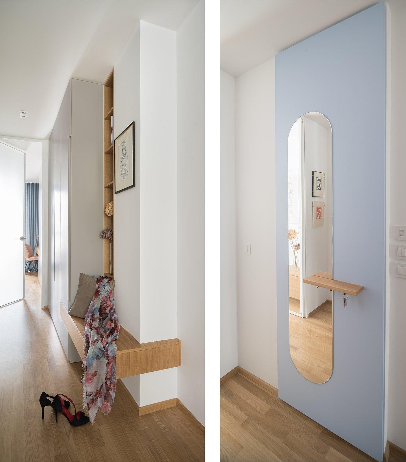 Hallway Entryway  Lady by idealist studio