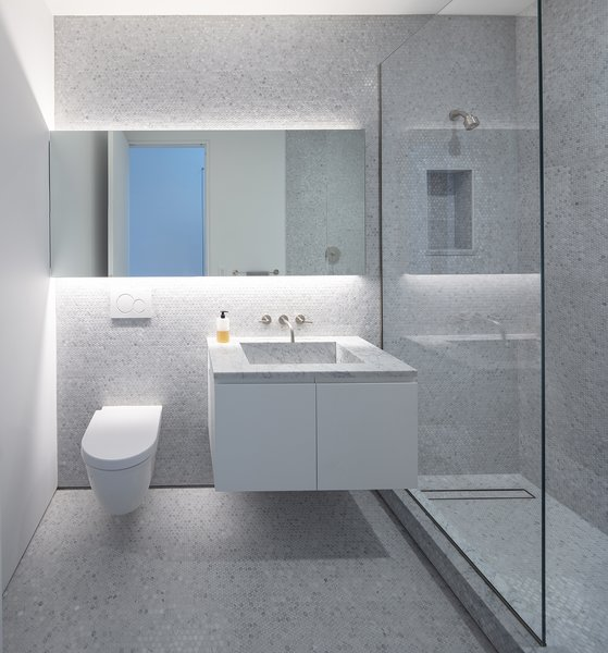 Accent Lighting One Piece Toilets